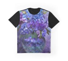 Hydrangeas In Hydrangea Vase Graphic T-Shirt