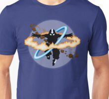 Aang going into uber Avatar state Unisex T-Shirt