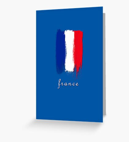 World Cup: France Greeting Card
