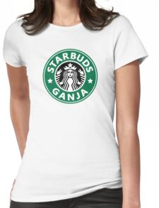 Starbuds Ganja Womens Fitted T-Shirt