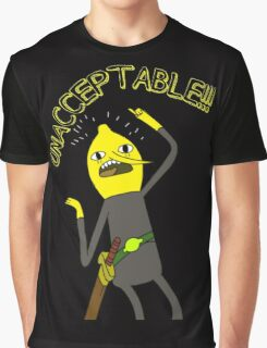 Adventure Time: Lemongrab 'Unacceptable' Graphic T-Shirt