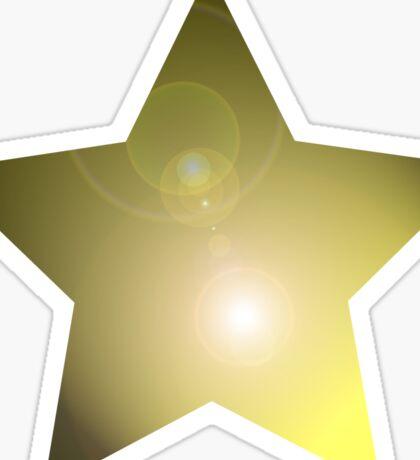 Gold Star Leggings T-Shirt Mini Skirt Sticker