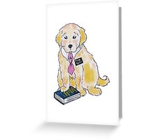 Missionary Puppy Card Greeting Card