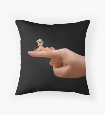 (✿◠‿◠)  (◕‿◕✿) I Held You Right On The Tip Of My Finger - THROW PILLOW (✿◠‿◠)  (◕‿◕✿) Throw Pillow