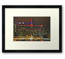 Empire in the Wind Framed Print