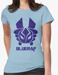 BLUERAF LOGO ROBOT Womens Fitted T-Shirt