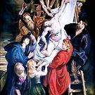 Descent from the Cross after Peter Paul Rubens by Hidemi Tada
