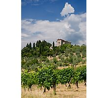 Tuscany Villa Photographic Print