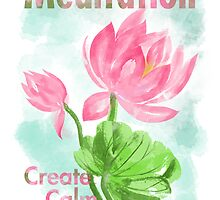 meditation create calm by ramanandr