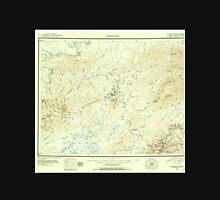 USGS TOPO Map Alaska AK Livengood 361103 1945 250000 Unisex T-Shirt