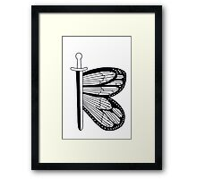Alphabet of Desire: B Framed Print