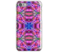 Neon Fractal Art iPhone Case/Skin