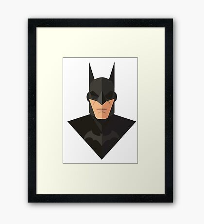 superhero edition Framed Print