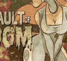 VAULT OF DOOM Sticker