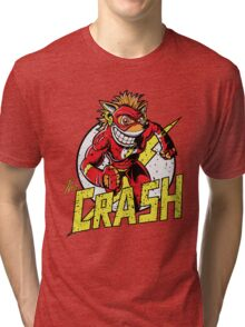 THE CRASH Tri-blend T-Shirt