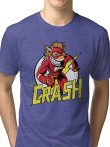 THE CRASH Tri-blend T-Shirt