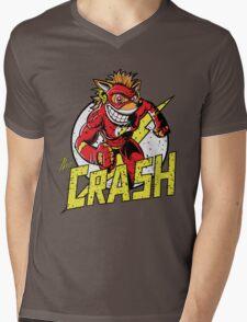 THE CRASH Mens V-Neck T-Shirt