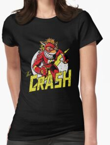 THE CRASH Womens Fitted T-Shirt