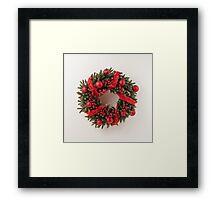 Advent wreath Framed Print