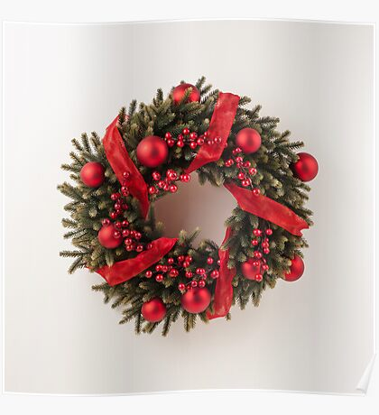 Advent wreath Poster