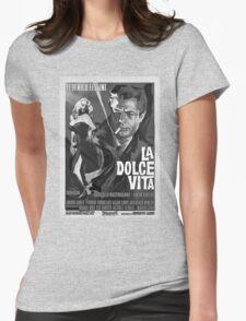 LA DOLCE VITA Womens Fitted T-Shirt