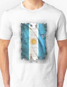 Argentina Flag World cup T-Shirt