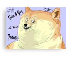 Really Good Doge Meme Canvas Print