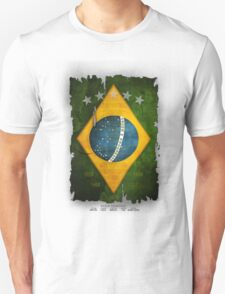 Brazil Flag World Cup 2014 Unisex T-Shirt