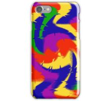 Primary Color Abstract iPhone Case/Skin