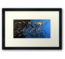 Pedal power Framed Print