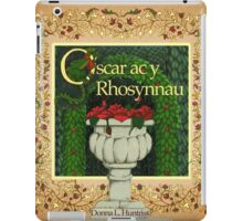 Oscar and the Roses - Front cover - Welsh Version iPad Case/Skin