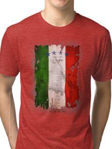 Italy Flag World Cup 2014 Tri-blend T-Shirt