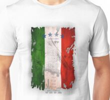 Italy Flag World Cup 2014 Unisex T-Shirt
