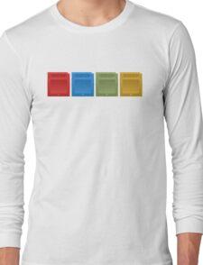 Pokemon Gameboy Cartridges. Long Sleeve T-Shirt