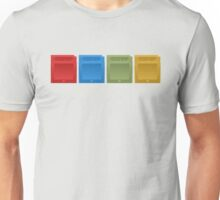 Pokemon Gameboy Cartridges. Unisex T-Shirt