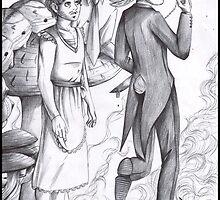 Hannibal - Will in Wonderland by Furiarossa