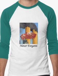 Never Forgetti Men's Baseball ¾ T-Shirt
