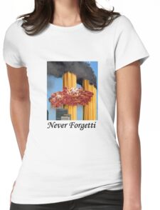 Never Forgetti Womens Fitted T-Shirt