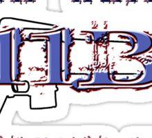 11Bravo - Combat Infantry - Afghanistan Veteran Sticker