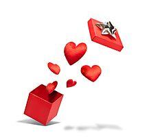 Present of Love Photographic Print
