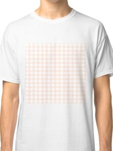 PEACH HOUNDSTOOTH Classic T-Shirt