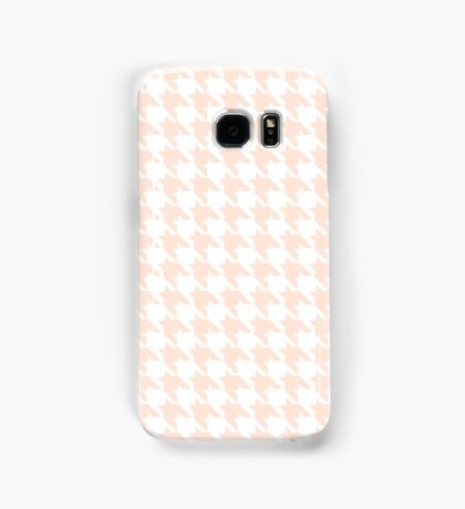 PEACH HOUNDSTOOTH Samsung Galaxy Case/Skin