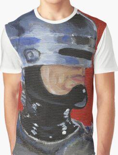 Retro Robocop Graphic T-Shirt