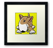 Let's Play English Bull Terrier  Framed Print