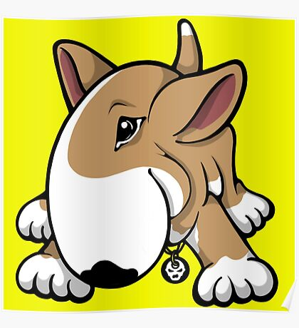 Let's Play English Bull Terrier  Poster