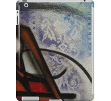 dragon lines and lace diptych iPad Case/Skin