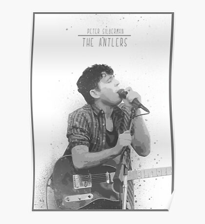Peter Silberman - The Anlters Poster