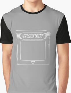 The Iconic Gameboy Cartridge. Graphic T-Shirt