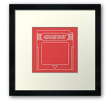 The Iconic Gameboy Cartridge. Framed Print