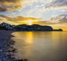 Sunset Little Orme by Ian Mitchell
